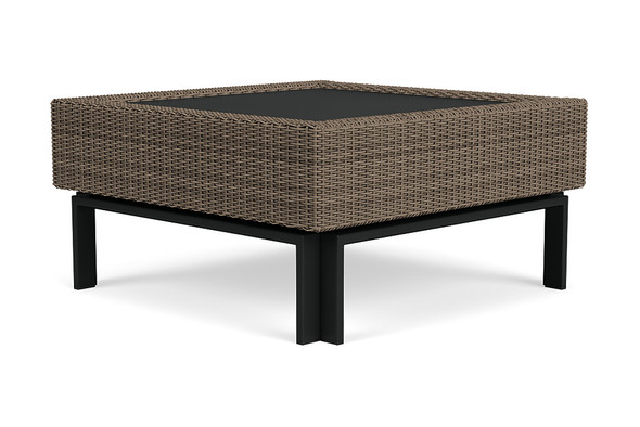 "IL Viale 35"" Square Coffee Table By Brown Jordan"