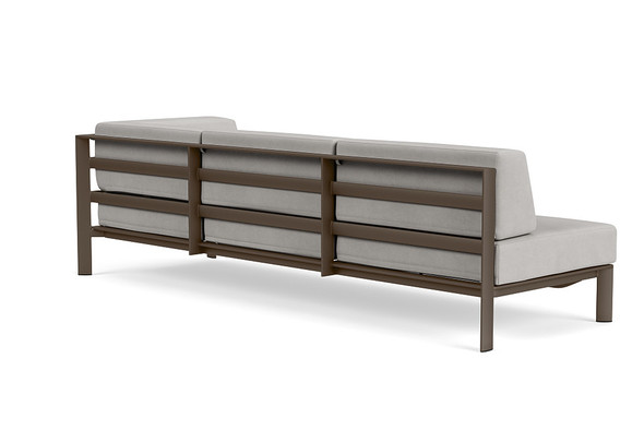 Parkway Modular Right Arm Sofa By Brown Jordan