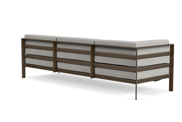 Parkway Modular Left Arm Sofa By Brown Jordan