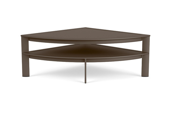 Parkway Modular Quarter Round Occasional Table By Brown Jordan