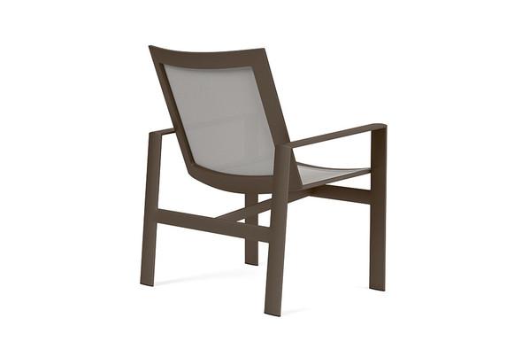 Parkway Flex Sling Arm Chair By Brown Jordan