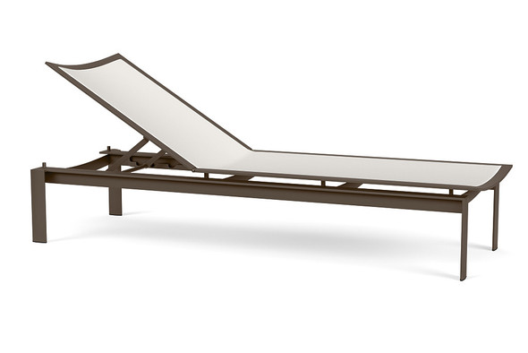 Parkway Flex Sling Stacking Chaise By Brown Jordan