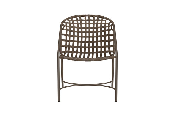 Kantan Aluminum Arm Chair By Brown Jordan
