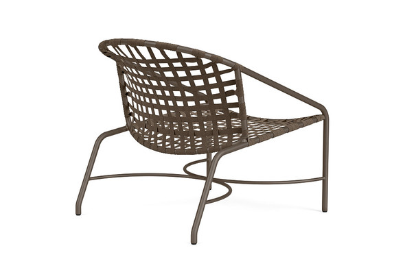 Kantan Aluminum Lounge Chair By Brown Jordan