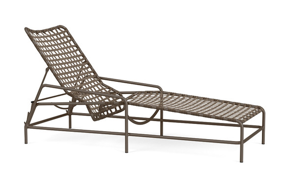 Kantan Aluminum Flat Adjustable Chaise By Brown Jordan