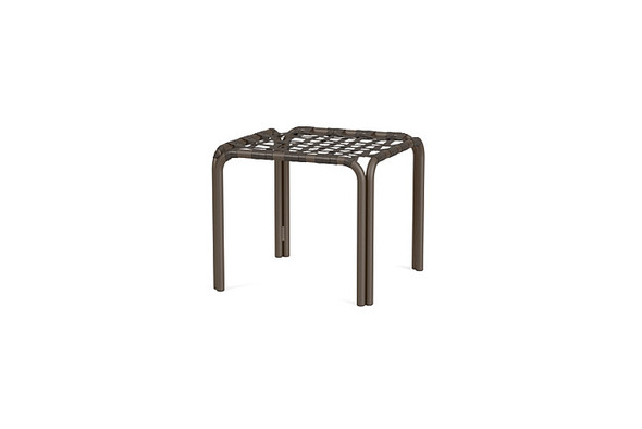 Kantan Aluminum Occasional Table By Brown Jordan
