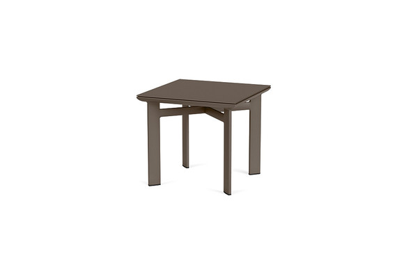 "Parkway 20"" Square Occasional Table By Brown Jordan"