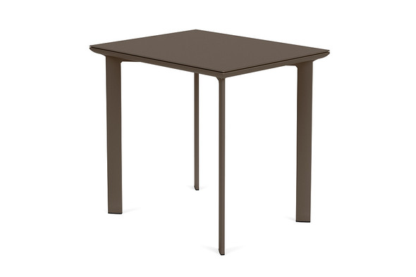 "Parkway 24""x30"" Rectangle Café Table By Brown Jordan"