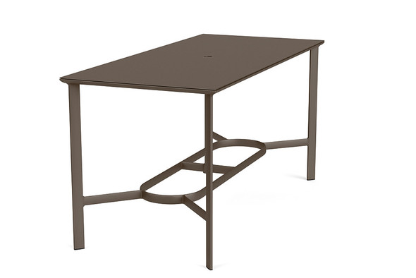 "Parkway 36""x79"" Rectangle Bar Table By Brown Jordan"