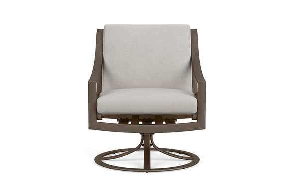 Pasadena Cushion Swivel Motion Lounge Chair By Brown Jordan