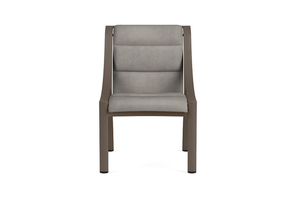Pasadena Padded Sling Side Chair By Brown Jordan
