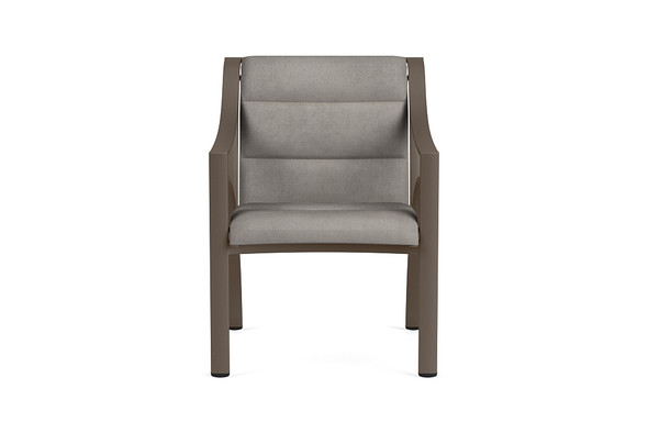 Pasadena Padded Sling  Arm Chair By Brown Jordan
