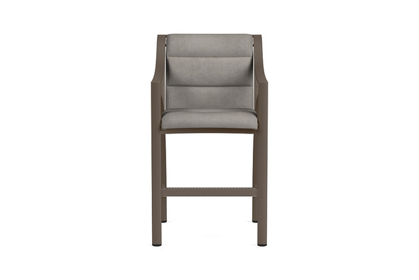 Pasadena Padded Sling Bar Chair By Brown Jordan