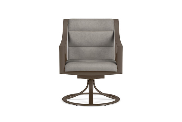 Pasadena Padded Sling Swivel Rocker By Brown Jordan