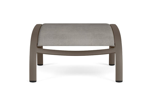 Pasadena Padded Sling Ottoman By Brown Jordan