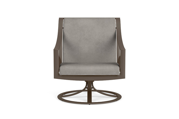 Pasadena  Sling Swivel Motion Lounge Chair By Brown Jordan