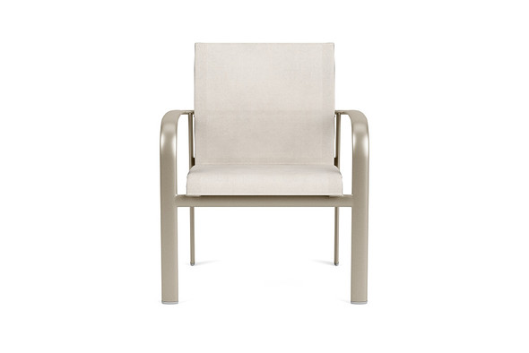 Sirocco Stacking Arm Chair By Brown Jordan