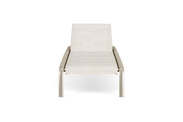 Sirocco Stacking Flat Adjustable Chaise By Brown Jordan