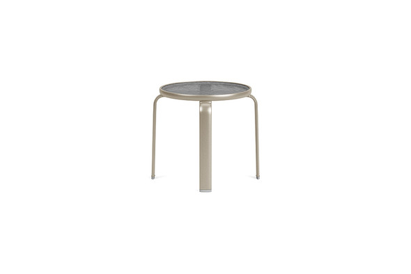 "Sirocco  22"" Occasional Table Glass Top By Brown Jordan"