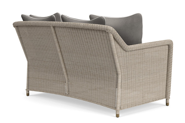 Southampton Loveseat, 4 Square Pillows By Brown Jordan
