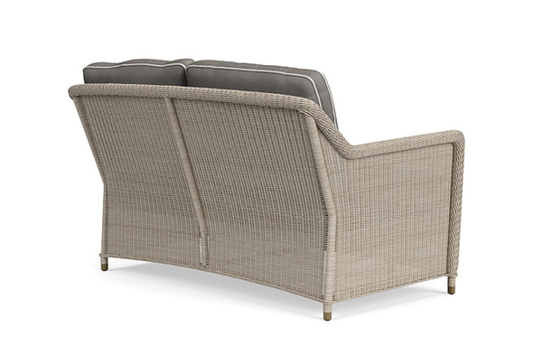 Southampton Loveseat, 2 Square Backs By Brown Jordan