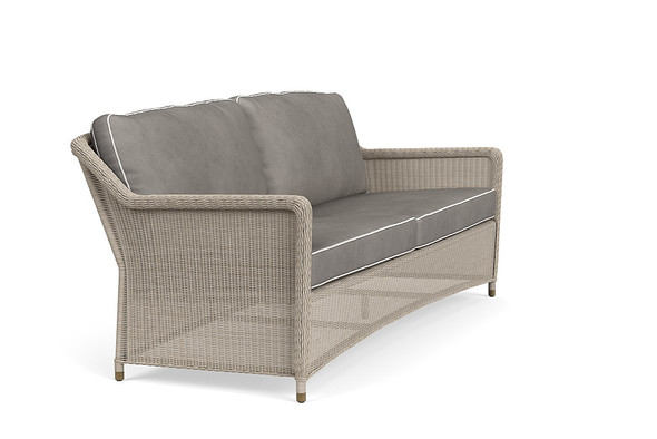 Southampton Sofa, 2 Square Backs By Brown Jordan