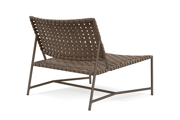 Stretch Armless Lounge Chair By Brown Jordan