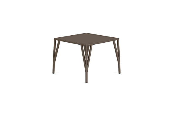 "Stretch 20"" Square Occasional Table By Brown Jordan"