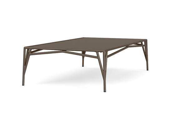 "Stretch 32""x54"" Rectangle Coffee Table By Brown Jordan"