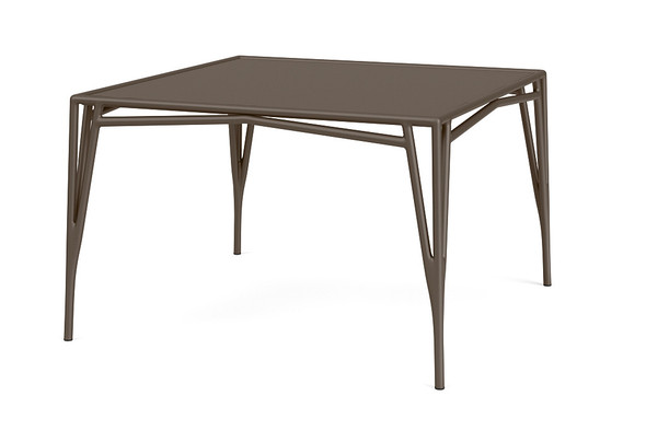 "Stretch 47""x47"" Square Dining Table By Brown Jordan"