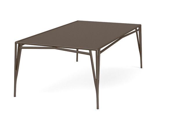 "Stretch 47""x81"" Rectangle Dining Table By Brown Jordan"