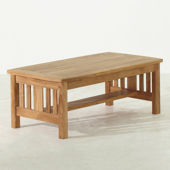 Mission Teak Coffee Table by Classic Teak