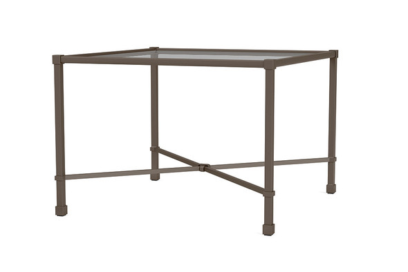 "Venetian26"" Square Corner Table By Brown Jordan"