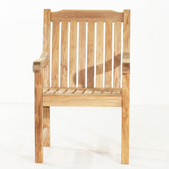 Deluxe Dining Arm Chair by Classic Teak
