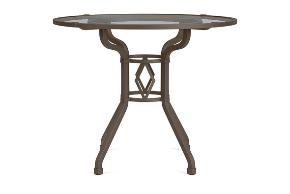 "Venetian 36"" Round Dining Table By Brown Jordan"
