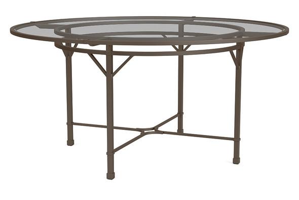 """Venetian 60"""" Round  Dining Table By Brown Jordan"""