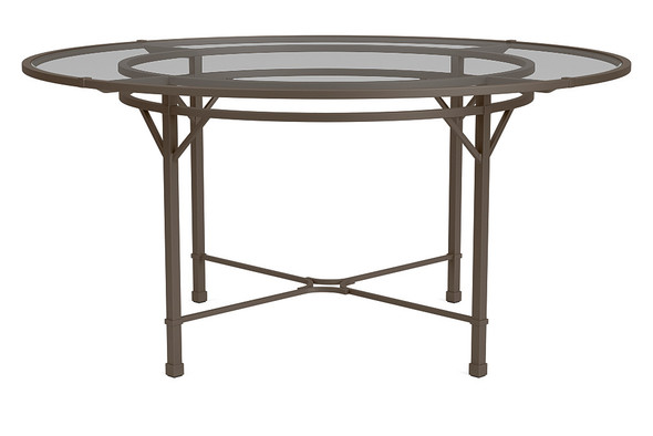 "Venetian 60"" Round  Dining Table By Brown Jordan"