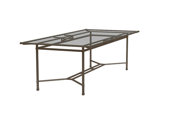 "Venetian 44""x98"" Rectangle Dining Table By Brown Jordan"