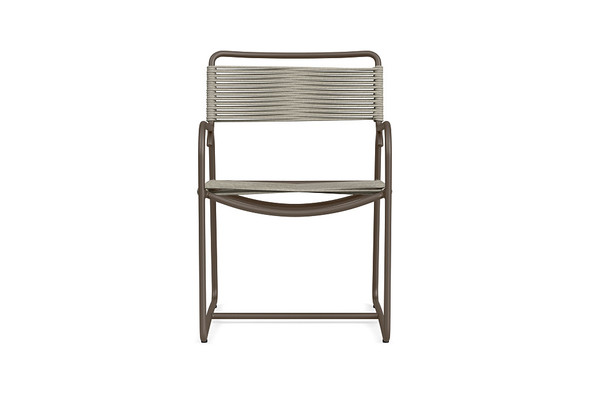 Walter Lamb Aluminum Arm Chair By Brown Jordan