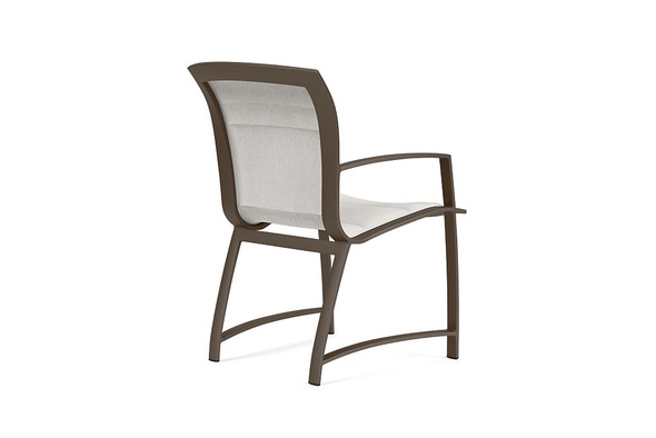 Wave Padded Arm Chair By Brown Jordan