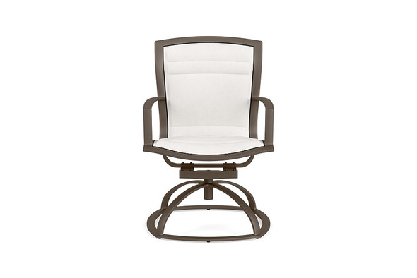 Wave Padded Swivel Rocker  By Brown Jordan