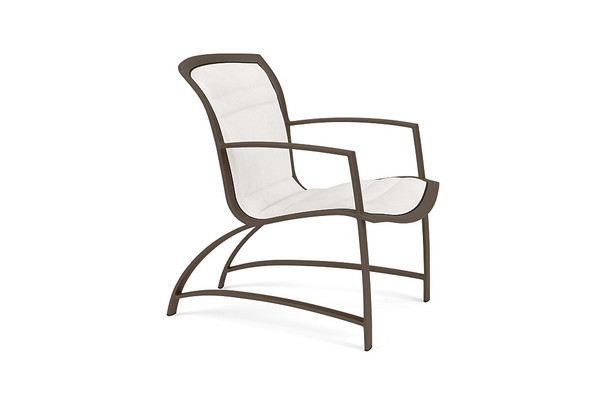 Wave  Padded Lounge Chair By Brown Jordan