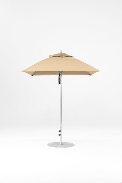 Monterey Fiberglass 6.5F Square Market Umbrella by Frankford