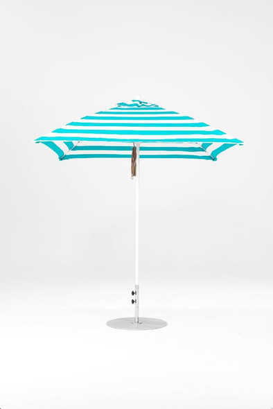 Monterey Fiberglass 7.5F Square Market Umbrella by Frankford