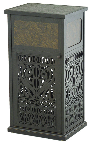 Tuscany Trash Receptacle with Liner by Hanamint