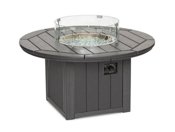 """Breezesta Elementz 48"""" Round Fire Table  Chat Height"""