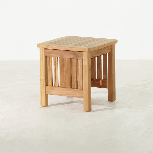 "Mission Teak Side Table 20"" by Classic Teak"