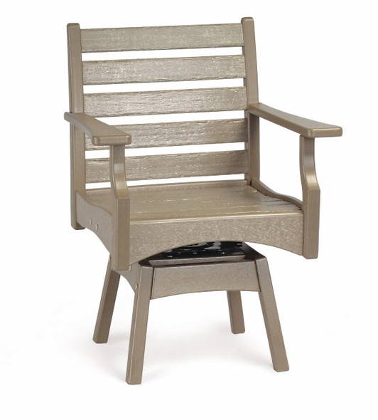 Breezesta Piedmont Swivel Rocker Dining Chair