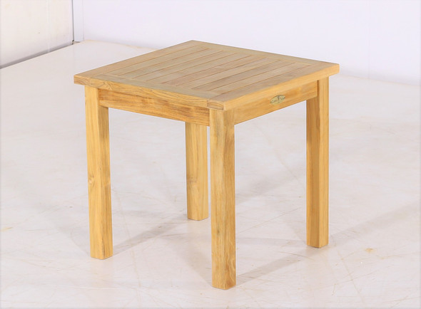 "Teak Side Table 20"" Square by Classic Teak"