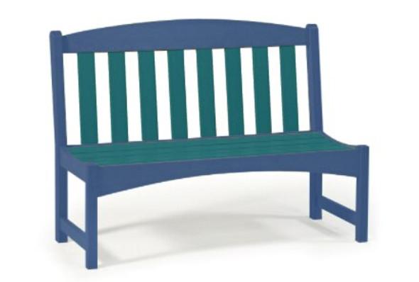 "Breezesta Skyline 48"" Park Bench"